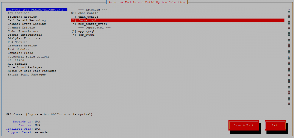 Installing and Configuring Asterisk 13 PBX on Centos 7